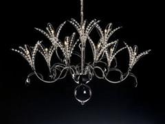 Link toOrchid-like crystal glass chandelier