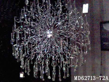 European wrought iron crystal chandelier