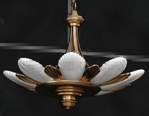 Link toLotus flower shaped pendant lamp