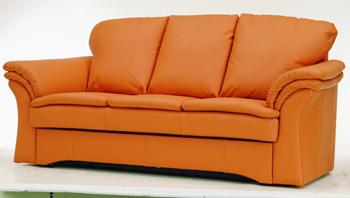 Link toModern orange three seats sofa