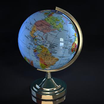 Link toWorld globe 3d models