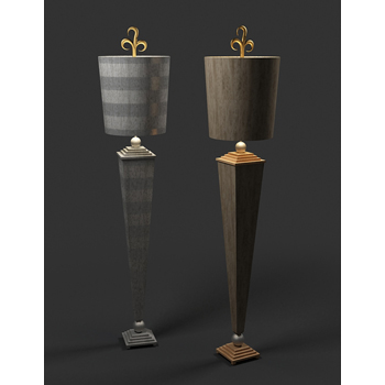 European-style table lamp 3D model