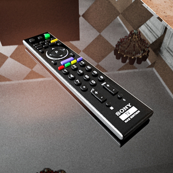 TV remote control 3D Models