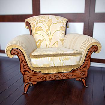 Link toEuropean-style simple armchair