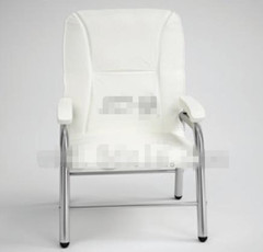 Modern simple white single chair