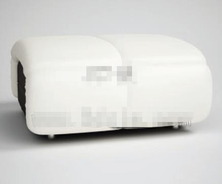 Personalized fashion pure white sofa