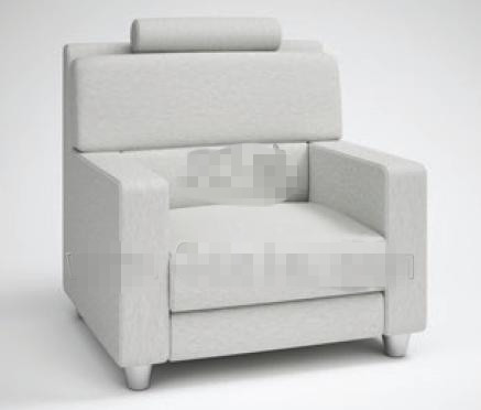 Link toFashion light gray fabric sofa