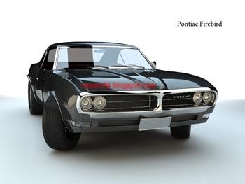 Black Pontiac model classic cars