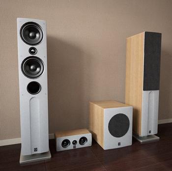 3D model of a modern sound