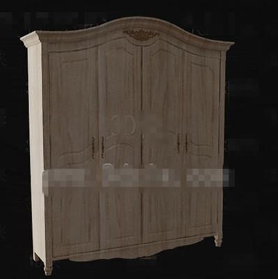 Link toEuropean style full-wood wardrobe