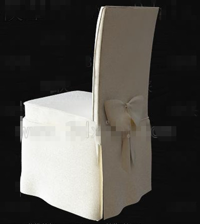 White butterfly knot chair