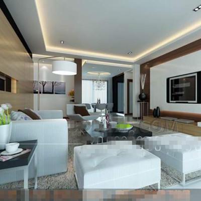 Link toModern white stylish living room