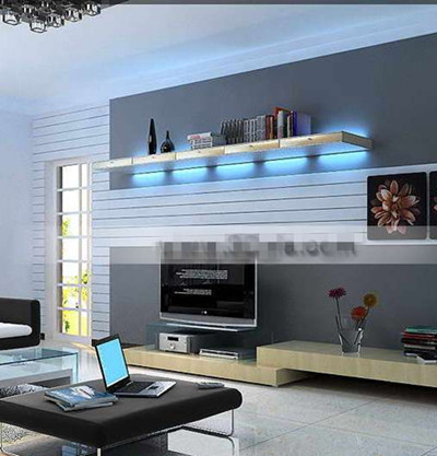Modern style fashion living room
