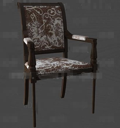 Brown fashion personality chair