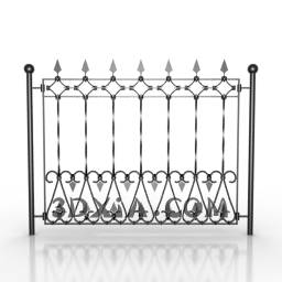 Link toMetal craft fence door
