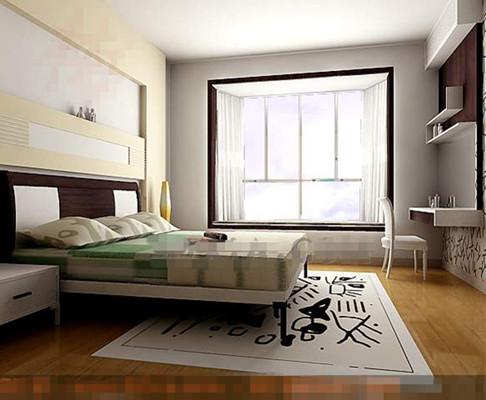 Link toModern simple and elegant white bedroom