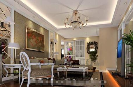 Link toEuropean white fresh living room