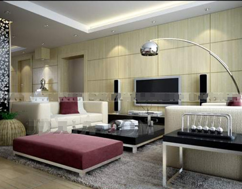Modern and comfortable living room