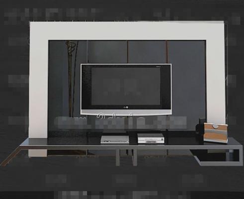 Modern Silver unique television cabinet
