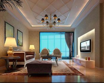 Link toBright floor-to-ceiling windows living room