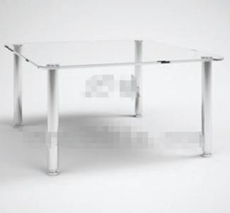 Link toTransparent glass rectangular tea table