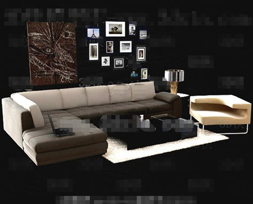 Link toSimple and comfortable sofa combination