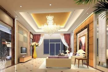 Link toModern golden warm tone living room