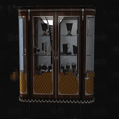 Link toGlass windows designed wine cabinet