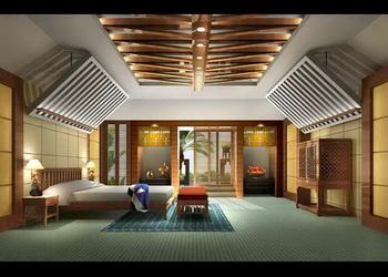 Link toModern unique ceiling bedroom