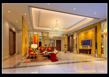 Link toWarm luxurious bright living room