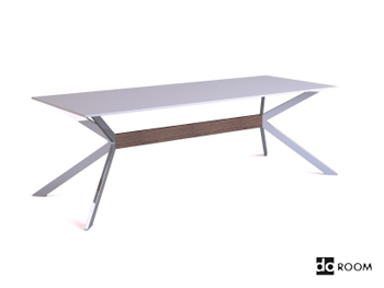 Link toModern white unique bracket table