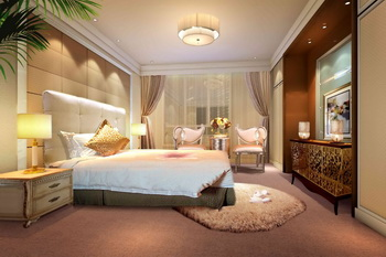 Link toModern luxury spacious bedroom