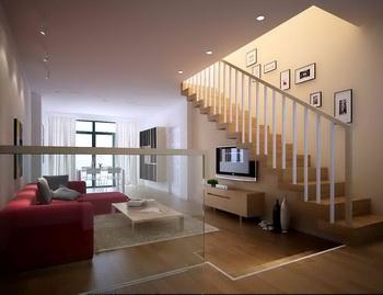 Link toDuplex simple warm living room