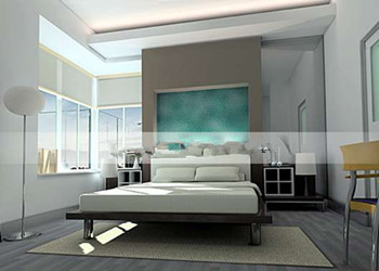 Link toFashion bright and simple bedroom
