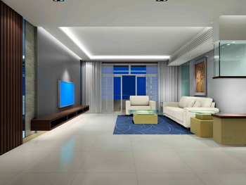 Link toExtremely simple decoration living room
