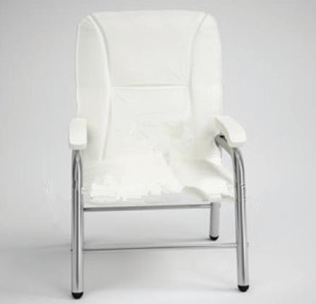 Modern white single sofa chair