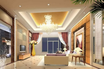Wealthy elegant and bright living room