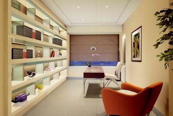 Bright and comfortable study room
