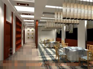 Modern clean and Casual restaurant