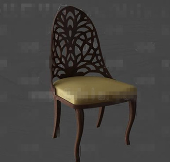 Link toGolden cushion wooden chair