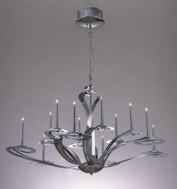 European style classical large iron chandelier