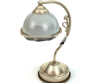 European style metal carved lamp