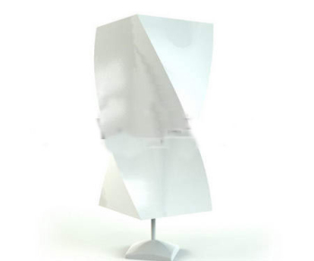 Link toGypsum abstract rectangular lamp