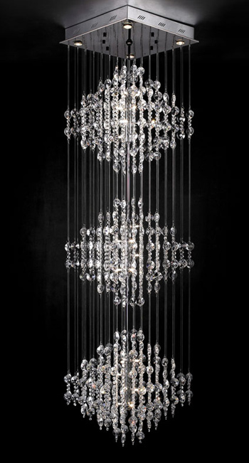 Ultra-modern crystal chandelier