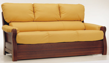 Link toEuropean-style three seats leather sofa