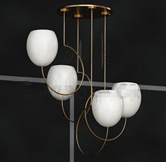 Link toWhite egg-shaped chandelier