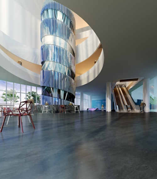 Science and Technology Museum Hall 3d models_Download free vector,3d