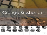 High-resolution texture texture class old PS brush set (1)